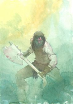 Conan by Esad Ribic Comic Art: