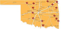 Check out TravelOK's interactive map to see where to find the best fall foliage in Oklahoma.