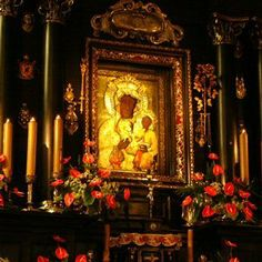 The Jasna Gora Monastery in Czestochowa is a famous Polish shrine to the Virgin Mary. The Black Madonna is credited with many miracles...