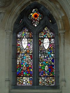 Mosaic Window by Harry Clarke