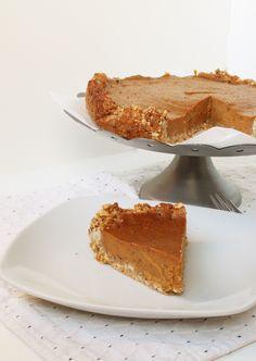 Kissoja & Kasvisruokaa: Cardmom Sweet Potato Pie (Gf, v)