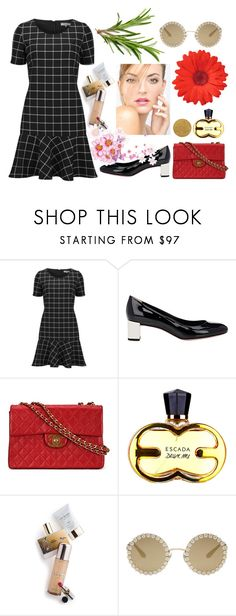 """""""Untitled #4367"""" by hanii-omachiss ❤ liked on Polyvore featuring Great Plains, Fendi, Chanel, Memo Paris and Dolce&Gabbana"""