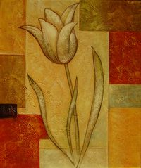 flowers-in-oil-abstract-and-modern paintings - Painting Art Painting, Modern Painting, Indian Art Paintings, Mural Art, Abstract Painting, Painting, Texture Painting, Abstract, Canvas Painting