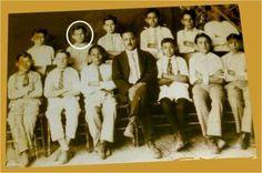 Pedro Infante en 4to año de primaria