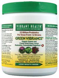 Green Vibrance by Vibrant Health - Buy Green Vibrance 6.1 Powder at vitamin shoppe