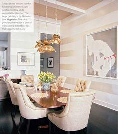 horizontal striped wall. Interior Desing, Interior Inspiration, Room Inspiration, Interior Ideas, Modern Interior, Interior Decorating, Decorating Ideas, Design Inspiration, Decor Ideas