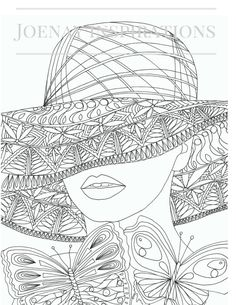 Caras del Mundo: Adulto Coloring Book