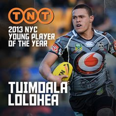 TNT 2013 NYC Young Player of the Year Tuimoala Lolohea