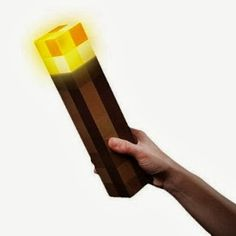 Look awesome and cool with the minecraft light up torch, link to buy on the the website!