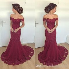 Sparkly Prom Dress, Burgundy Evening Dress,Mermaid Prom Dress,Lace Evening Gowns,Elegant Formal Dress These 2020 prom dresses include everything from sophisticated long prom gowns to short party dresses for prom. Evening Dress Long, Burgundy Evening Dress, Lace Evening Gowns, Evening Party, Burgundy Formal Dress, Burgundy Wedding, Mermaid Prom Dresses Lace, Prom Dresses 2018, Bridesmaid Dresses