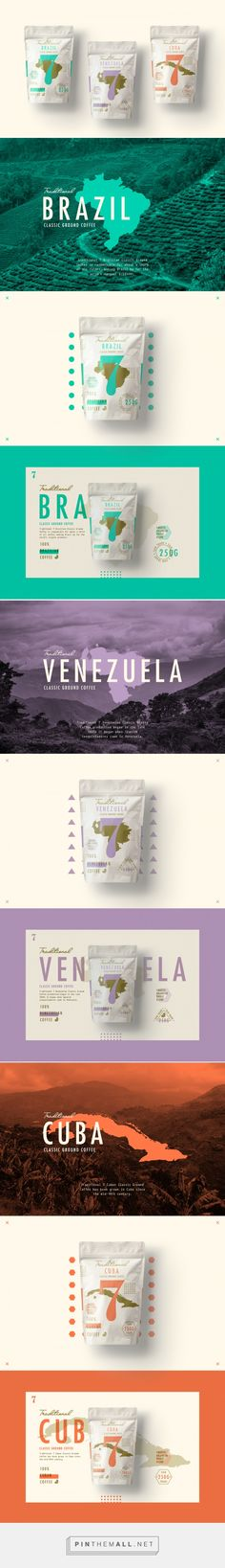 Traditional 7 Coffee Branding and Packaging by Studio-JQ | Fivestar Branding – Design and Branding Agency & Inspiration Gallery