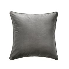 IKEA Cushion cover Grey: textiles-rugs / covers Cotton velvet gives depth to the colour and softness to the touch.