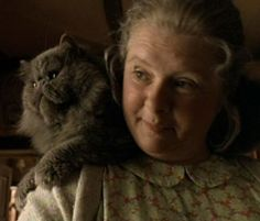 Duchess is the gray Persian cat who is the spoiled pet of Farmer Hoggett's wife, Esme (Magda Szubanski) in Babe Babe 1995, Border Collie Names, Small Pigs, Cat Tags, Universal Pictures, Little Pigs, Old Women, View Photos, Dream Big