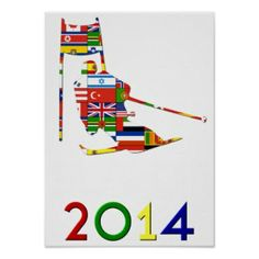 Sochi 2014 art posters | Sochi 2014 T-Shirts, Sochi 2014 Gifts, Art, Posters, and more