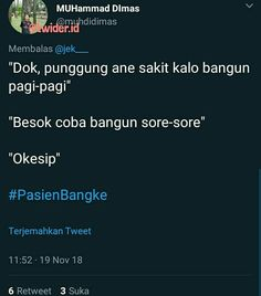 Quotes Lucu, Jokes Quotes, Funny Quotes, Funny Memes, Quotes Indonesia, Motivational Words, Wallpaper Quotes, Best Quotes, Haha