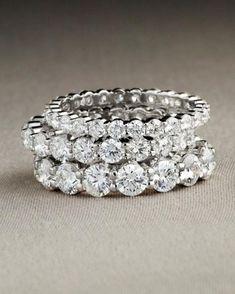 Eternity Diamond Rings...sigh...