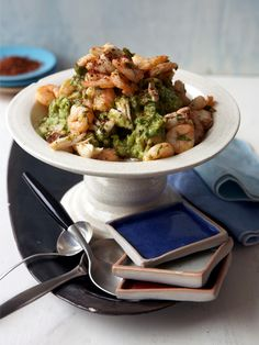Seafood Guacamole from CookingChannelTV.com....
