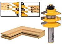 Yonico 12121 Rail and Stile Router Bit Ogee Stacked 1/2-Inch Shank