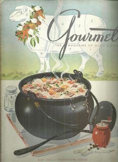 Gourmet Magazine May 1946