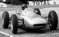Formula 1 photo: Dan Gurney on his way to victory in the Porsche French Grand Prix, Rouen, July 1962 Porsche 911 Gt2, Porsche Carrera, Davy Jones, F1 Racing, Drag Racing, Le Mans, Aston Martin, Derek Bell, Ferrari 250 Gto