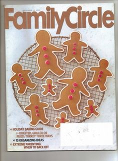 Family Circle Magazine Holiday Baking Guide November 29 2009 | jjandedt - Books  Magazines on ArtFire