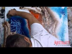 AMAZING ABSTRACT PAINTING VIDEO LESSON - Empty Streets - YouTube