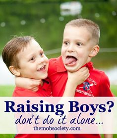 Raising boys? Have you heard about the MOB Society? FOR moms of boys, BY moms of boys! Click to find a community FULL of support for boy moms!