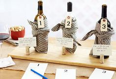 Wine Tasting Idea...try and match the wine with its printed description