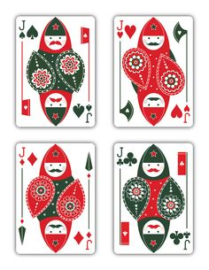 "Russian Folk Art ""Special Edition"" is a beautiful deck of playing cards inspired by Russian Folklore. Printed by USPCC"