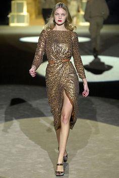 Roberto Cavalli Fall 2007 Ready-to-Wear Fashion Show - Caroline Trentini