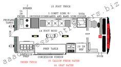food truck autward design | 15 foot food truck plan 14 foot food truck plan 12 foot trailer