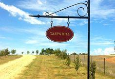 Taff's Hill Property Sign   Danthonia Designs