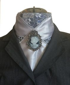Fashion forward stock ties and custom dressage accessories. For the finest dressage apparel accessories, shop The Rock House Couture.