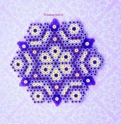 Purple Ornament Hama Beads by TCAshop
