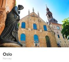 Oslo Travel Guide on Eventegg Air Tickets, Airline Tickets, Cheap Airlines, Day Tours, Oslo, Barcelona Cathedral, Statue Of Liberty, Norway, Travel Guide