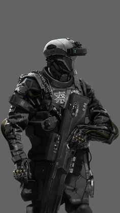 Riot police 2087 by Marek Piechota Character Concept, Concept Art, Character Design, Riot Police, Future Soldier, Comic, Alice In Wonderland, Futuristic, Sci Fi