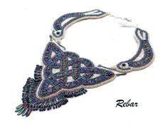 Necklace Cliothna от RebarJewelry на Etsy