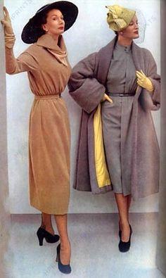1951 Le Jardin des Modes Lanvin, Jacques Fat.
