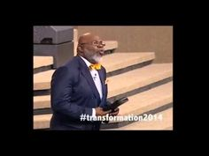 """Transformative Thinking"" Rebroadcasting NOW @ http://tdjakes.org/watchnow  #Transformation2014"
