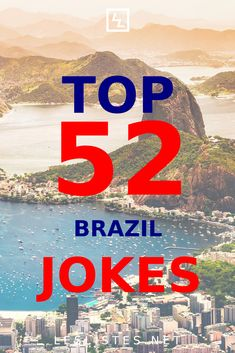 Brazil is the largest country in South America. With that in mind, check out the top 52 Brazil jokes you should know. #brazil Brazilian People, Brazilian Men, Largest Countries, 3 In One, Program Design, Denial, Independence Day, South America