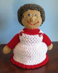 Ravelry: Mrs Santa Claus Crochet Doll pattern by C.L. Halvorson