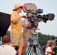 Moviecam, on the set of Gods and Generals. Maryland film photographer.