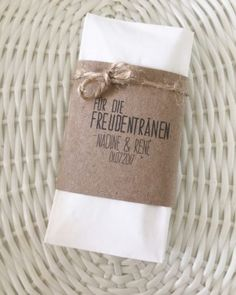 Vintage Freudentränen Taschentücher von Dawanda, 1.36 €