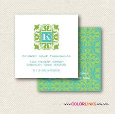 Preppy Business Cards