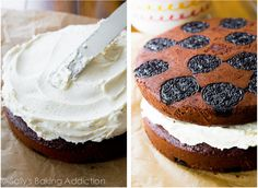 Sallys Baking Addiction Oreo Cake. - Sallys Baking Addiction