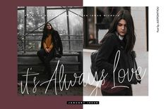 Always Love - Handwritten Font by Ian Irwanwismoyo on @creativemarket #AD