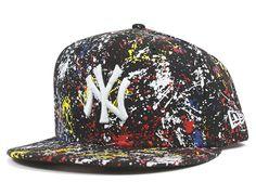 Yankees Splatter Snapback Cap by NEW ERA x MLB ff978ef2f99