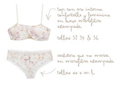 fade: Handmade drawings with a past feeling inspired in porcelains and objects of childhood. #beyondBodies #lingerie