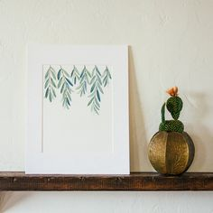 Olive Branch Print by Fox Hollow Design Co.