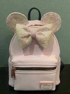disney loungefly mini backpacks Minnie on Mercari Disney Princess Backpack, Minnie Mouse Backpack, Disney Purse, Clear Backpacks, Cute Mini Backpacks, Cute Purses, Girls Bags, Cute Bags, Cute Disney